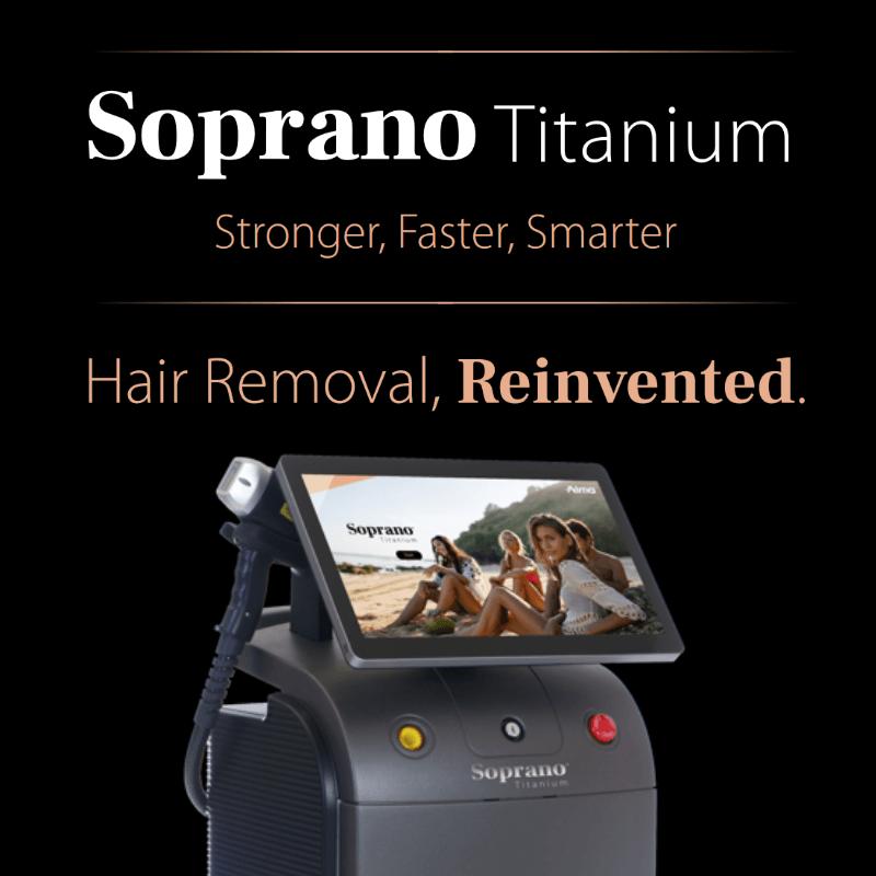 Soprano Titanium laser hair removal